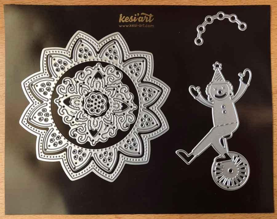 Dies de découpe en métal Kesi'Art