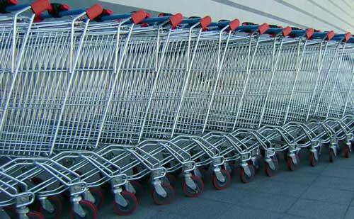 Est-ce que j'ai assez de chariots pour faire les courses ?